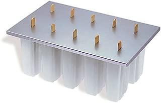Prepworks by Progressive Freezer Pop Maker, 10 Ice Pop Maker - Includes 50 Wooden Freezer Pop Sticks