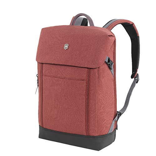 Victorinox Altmont Classic, Deluxe Flapover Laptop Backpack, Burgundy