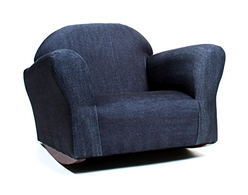 KEET Bubble Rocking Kid's Chair, Denim