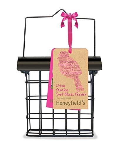 Honeyfields Hanging Wild Bird Suet Block Feeder, Urban Garden Design in...