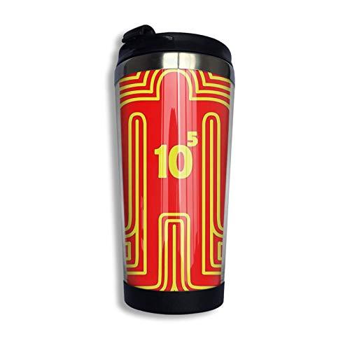 Hdadwy Doshin The Giant Yellow Ver. Taza de viaje Taza de café Vaso aislado al vacío de acero inoxidable 13.5 oz