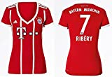 FCB Trikot Damen 2017-2018 Home - Ribery 7 -