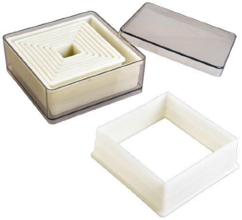 IBILI 784203 - Stampini Quadrati Lisci