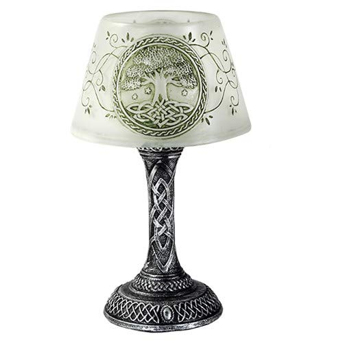 Pacific Giftware Tree of Life LED Mini Night Lamp Desktop Decor 7 Inch Battery Operated