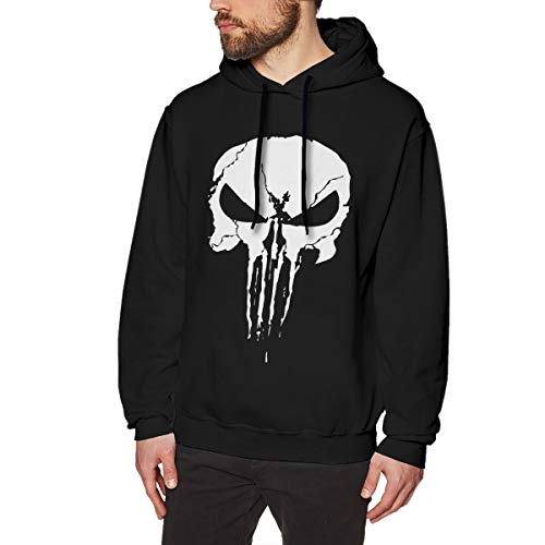 Sniper Chris Kyle Punisher The Legend Fashion Long Sleeve Sweater Pullover Hoodies for Men Winter Black 3XL