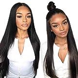 Cheveux Naturel Straight Brésilienne Perruque Femme Naturelle 360 Lace Front Wig Cheveux Humain Lace Wig Lisse Unprocessed Longue...