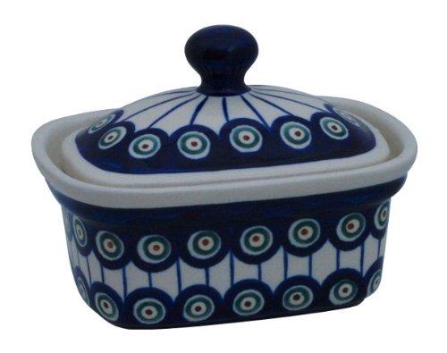 Margarine Pot en céramique au motif 8