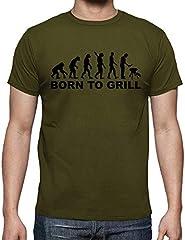Latostadora Camiseta de Manga Corta la Evolución para Hombre