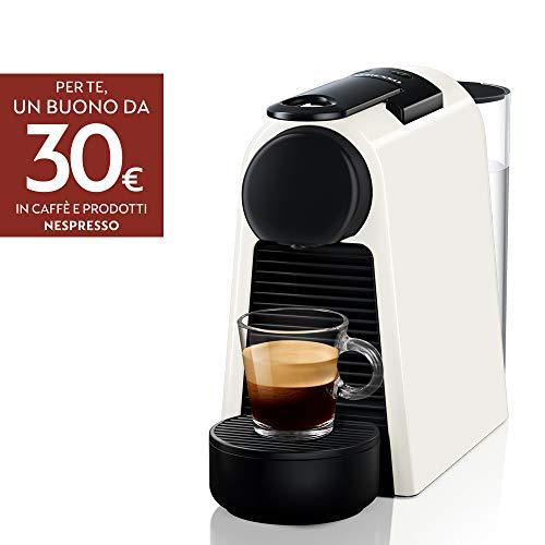 De'Longhi EN85.W Macchine del Caffe Essenza Mini Nespresso, 1370 watt, Bianco