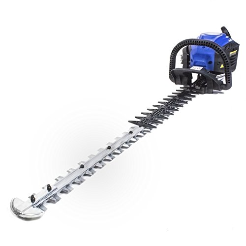 Hyundai Petrol Hedge Trimmer Cutter 72cm / 28 inch Double Reciprocating Blade 26 cc 2-Stroke Engine / HYT2622-3