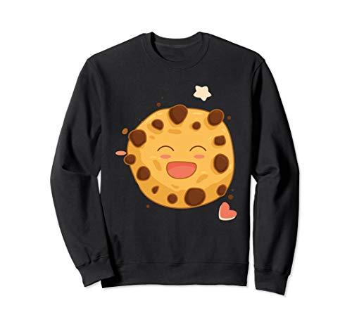 Schokolade Chip Keks Emoji Geschenk zu Weihnachten Sweatshirt