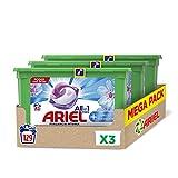 Ariel Pods Detergente Lavadora Cápsulas, 129 Lavados (Pack 3 x 43), Efecto Suavizante