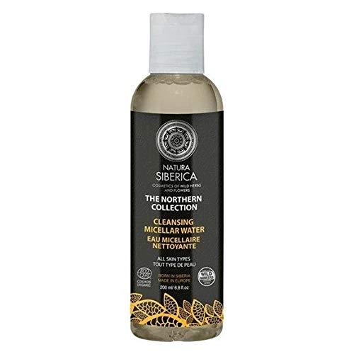 Natura Siberica–agua micelar limpiadora todo tipo de piel–Le frasco de 200ml–Patines para los Mandos en Francia–precio por unidad
