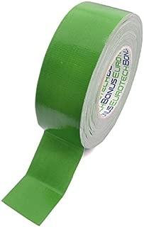 BONUS Eurotech 1BC12.43.0050/050A# Premium Duct Tape, Klebstoff auf Naturkautschuk Basis, mit PE laminiertes Gewebe, Länge 50 m x Breite 50 mm x Dicke 0,25 mm, Grün
