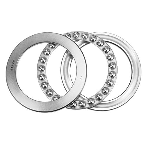 uxcell 51120 Thrust Ball Bearings 100mm x 135mm x 25mm Chrome Steel Single Direction