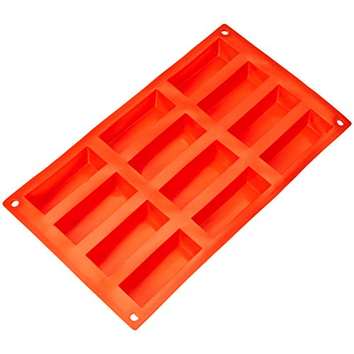 Molde de silicona para bizcochos rectangulares