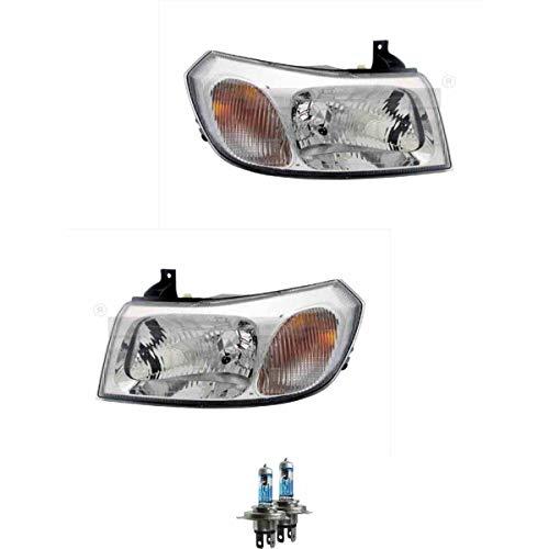Scheinwerfer Set H4 für Transit Pritsche/Fahrgestell FM_ FN_ inkl. Lampen