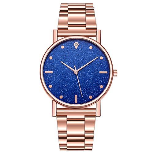 Women Wrist Watch, Waterproof Classic Quartz Watch Dress Watch with Stainless Steel Strap (G)