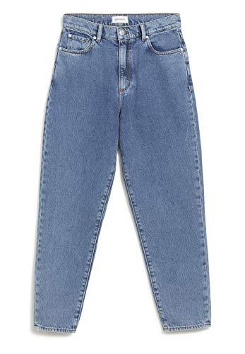 ARMEDANGELS Jeans Mom Fit High Waist - MAIRAA Mid Blue Denim aus 100% Bio-Baumwolle