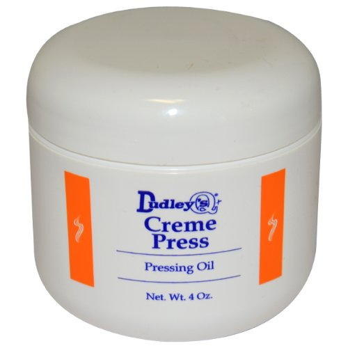 Dudley's Cream Pressing Oil Unisex, 4 Ounce