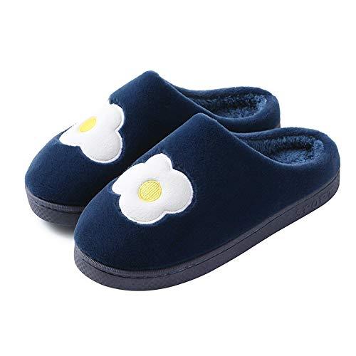 Zapatillas De Estar Dormitorio Zapatillas De Frutas De Algodón para Mujer, Zapatos De Interior para El Hogar,...
