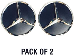 IMS auto parts Mercedes Sprinter Back Door Star Badge Emblem Adhesive Pack of 2 2006 To 2017