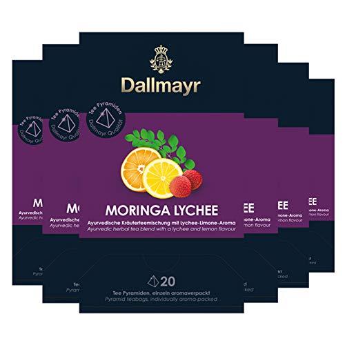 Dallmayr Teepyramide Moringa Lychee, 6er Pack