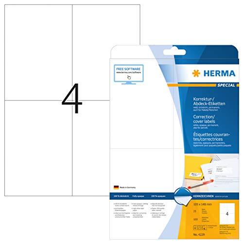 Herma Etikett 4229 105X148MM WS