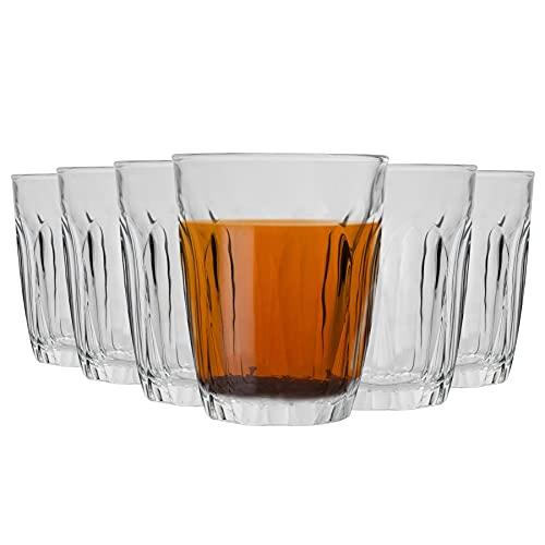 DURALEX Provence Bicchieri - Bicchieri 160ml di Acqua, Succo di Frutta - Confezione da 12