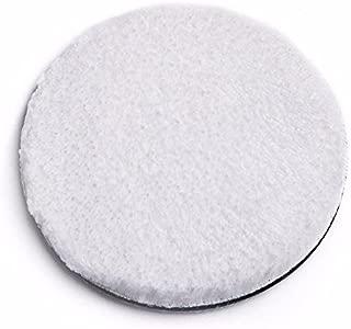 "SGCB Ultra Fine Microfibre Finishing Pad, 5"" Car Wax Applicator Pad Polishing Hook and Loop Pad Soft Buffing Wool Pad Kit for Polisher Buffer Pneumatic Machine Car Stone Ceramic Furniture Glass"