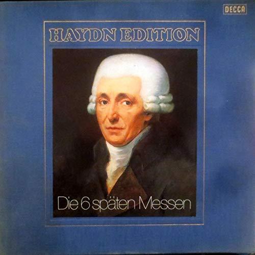 Haydn Edition VIII: Die 6 späten Messen [Vinyl Schallplatte] [6 LP Box-Set]