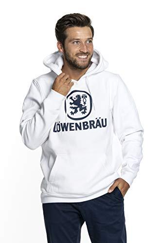 Löwenbräu Hoodie Original   Kleidung   weiß   Top Qualität   Alle Größen (L)