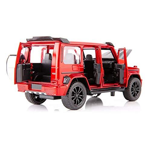 Simulación 1:32 para G700 SUV Modelo De Coche De Juguete De Metal Fundido A Presión Vehículo Sonido Y Luz Coche Extraíble Colección De Regalos De Juguetes para Niños Colección (Color : 4, Size : B)