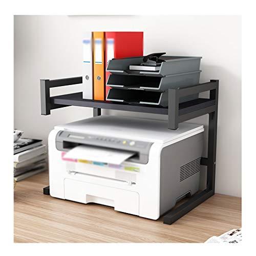 Soporte Impresora Impresora de escritorio Soporte de acero inoxidable MARCO DE ALMACENAMIENTO DE ESCRITORIO DE MAYOR PARA LA MAZONA DE LA MACA DE LA MACA DE LA MAZA DE LA MAZAJE DE LA OFICINA Escáner