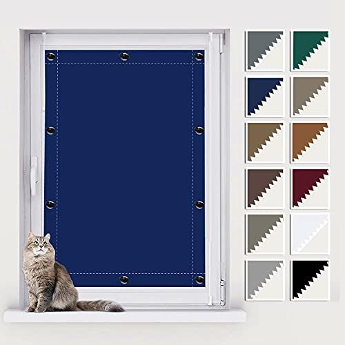 AIYOUVM Dachfenster Rollo Roto Fenster, Fensterrollos Innen, UV Schutz Blickdicht und Thermo Sonnenschutz, Thermo Folie für Fenster für Beliebige Fenster 100x175cm
