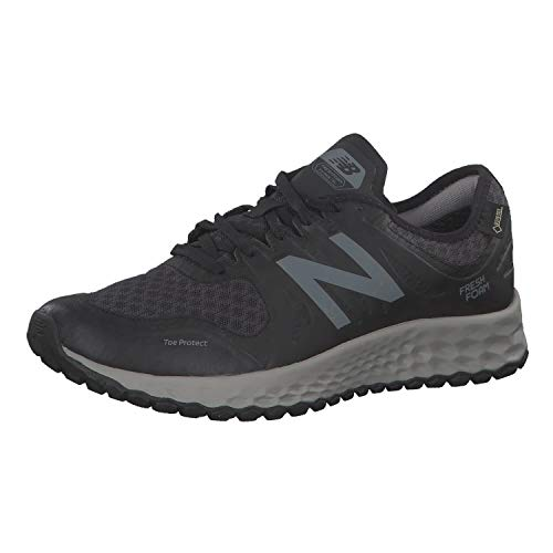 New Balance Fresh Foam Kaymin Gore-Tex, Scarpe da Trail Running Uomo, Nero (Black Black), 40.5 EU