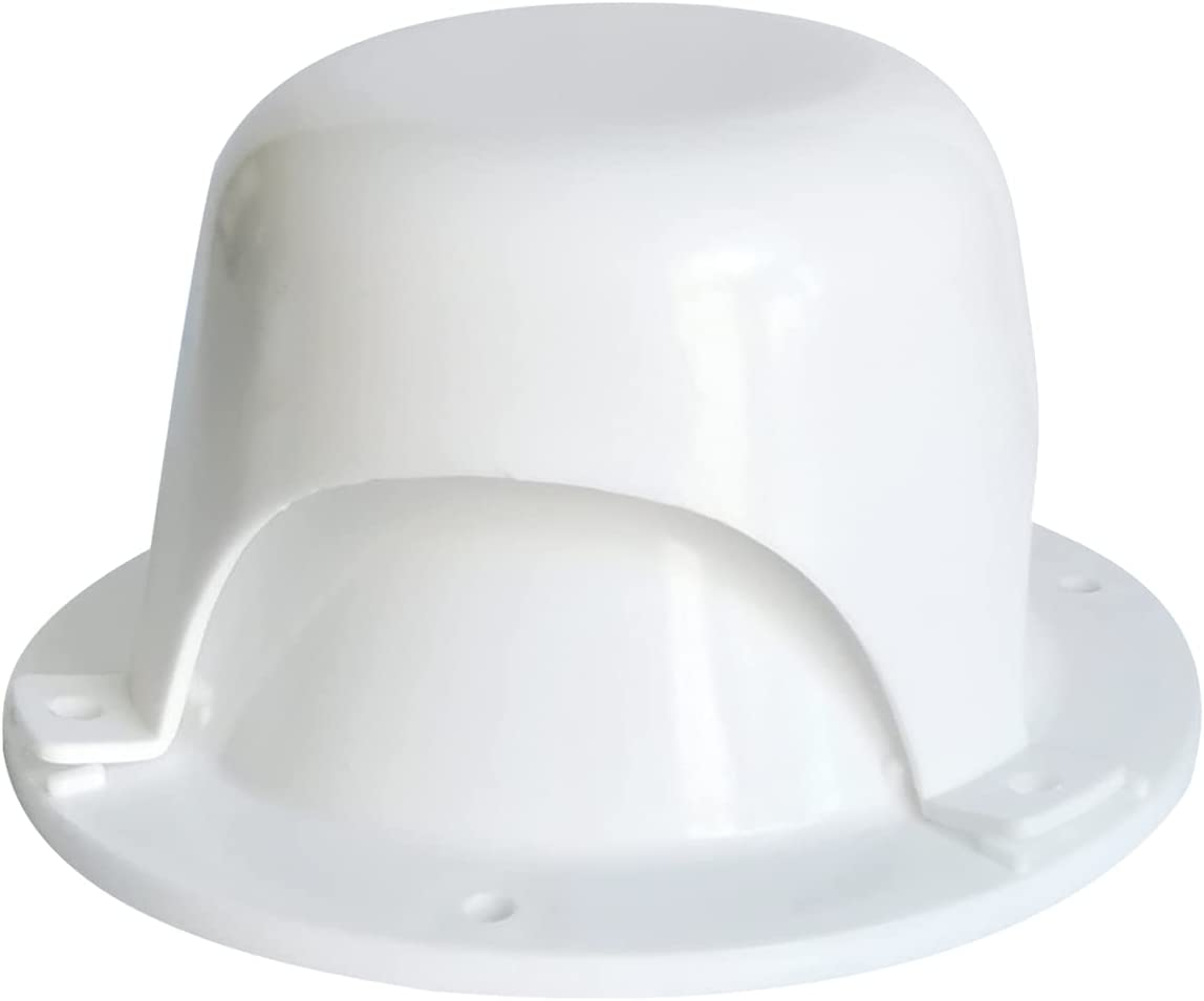 NUSET Cheap A surprise price is realized SALE Start RV032-33 White RV Roof Vent Cover - Caps