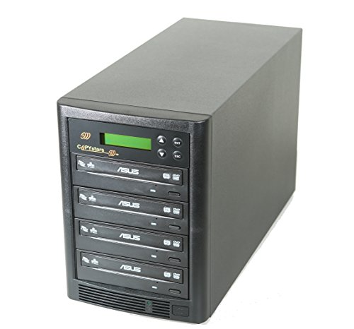 Copystars DVD Duplicator CD-DVD-Burner Drive Duplication Copier Tower 1-3 Target 24x Sata