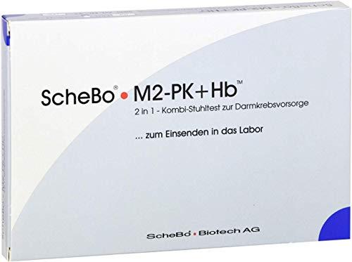 SCHEBO M2-PK+Hb 2 in1 Kombi-Darmkrebsvorsorge Test, 1 P