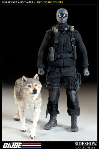 Sideshow Collectibles - G.I. Joe figurine Snake Eyes & Timber 30 cm by Sideshow