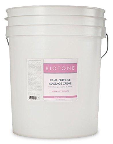 BIOTONE Dual-Purpose Massage Creme - 5 Gallon Bucket