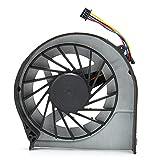 Deansh Ventiladores de PC, disipación de Calor Fuerte Refrigerador de radiador de computadora Compatible y Duradero para computadoras portátiles HP con diseño de Cuchilla con presión optimizada