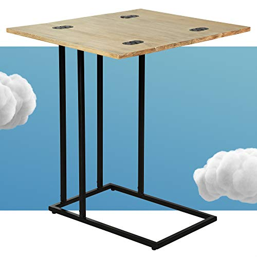 Serta C Side Table, Wood, Natural