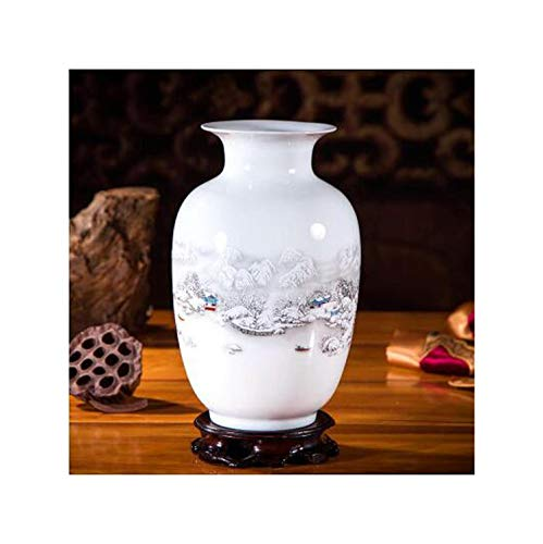 Lou Chapman Antike chinesische Keramik-Vasen Crafts Hauptlieferungs-Dekoration Crafts Palace Antike Vase Basis Ornament Kunst, 14