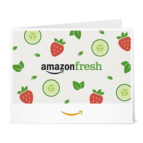Amazon Gift Card - Print - Amazon Fresh Fruit