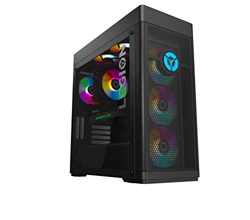 Lenovo Legion Tower 7i Gaming Desktop-PC (Intel Core i7-10700K, 32GB RAM, 1TB SSD, NVIDIA GeForce RTX 3070, Windows 10 Home) schwarz