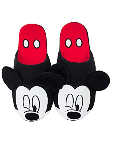 Disney Mickey Mouse Teil 3D Erwachsene Frauen Neuheit Haus Hausschuhe