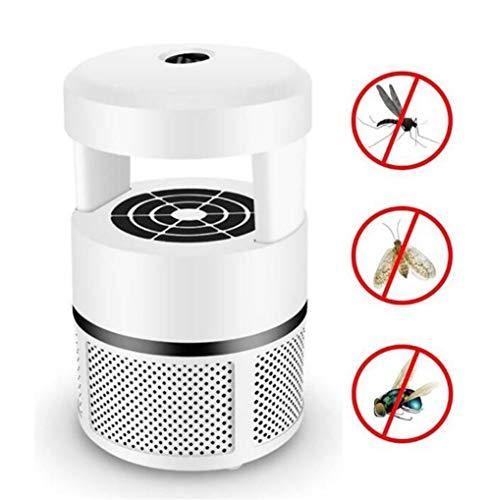 Huifly muggenlamp, elektrisch, niet giftig en zonder straling, camping binnenshuis, muggennet, uv-licht, sterke trekker, USB