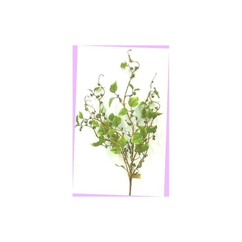 "silk flower arrangements artificial vine berry spray stem green/silk foam artificial 29"" t flowers bouquet realistic flower arrangements craft art decor plant for party home wedding decoration"