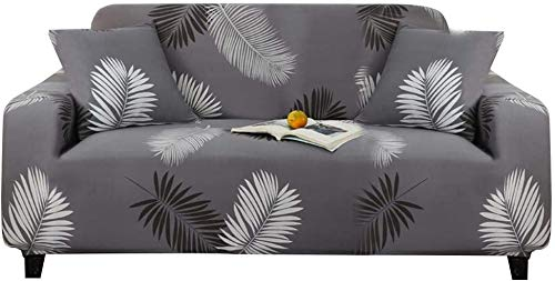 Meiruyu Funda de sofá elástica Estampada/Funda de sofá elástica Lavable/Fundas de sofá de poliéster Spandex Protector de Muebles (190-230cm)